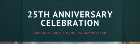 Announcing: 25th Anniversary Celebration Schedule